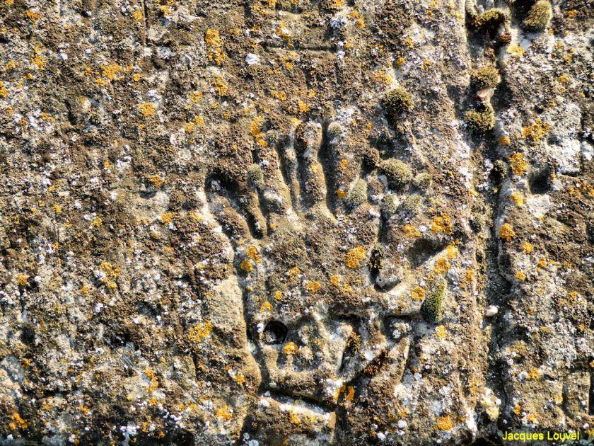 Graffitis sur les remparts du château de Caen