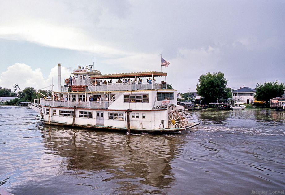 Promenade à la Nouvelle Orléans en août 1973