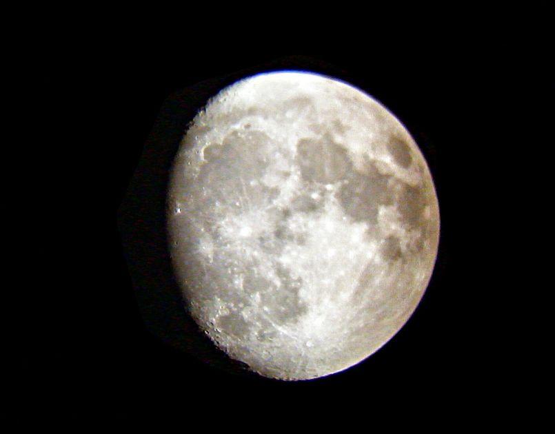 La Lune du 26 juillet 2007 23H53