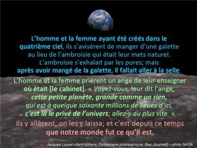 Tout est bien (Voltaire)