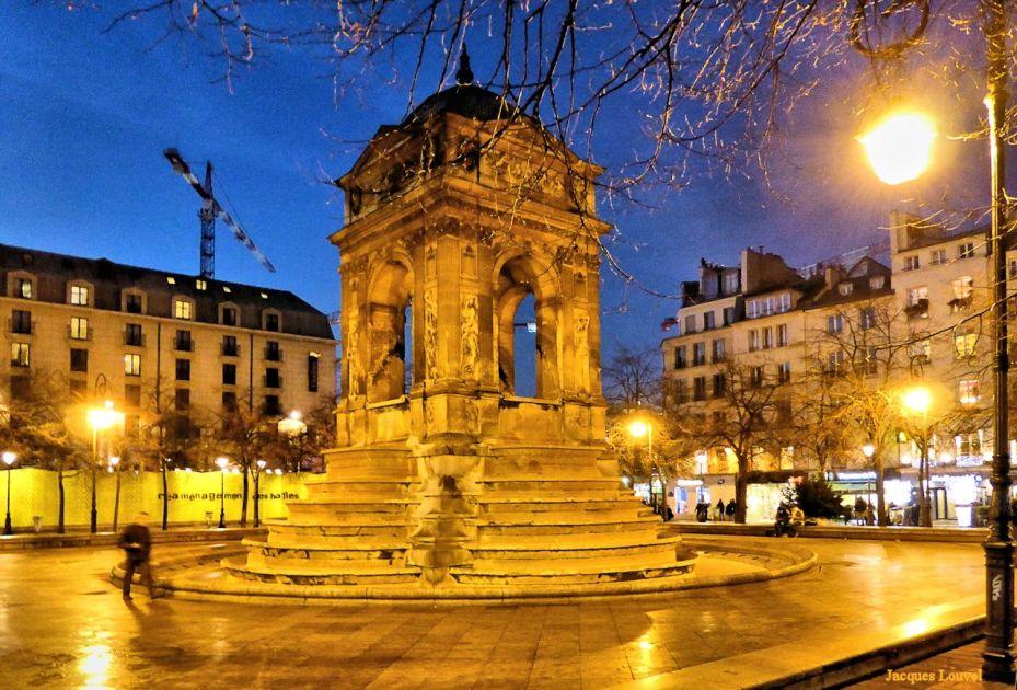 Fontaine des innocents - Paris