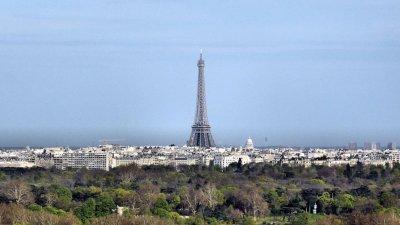 Paris depuis le Mont Valérien