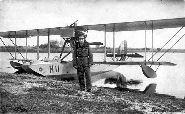 Hydravion H11 à Argenteuil en 1924
