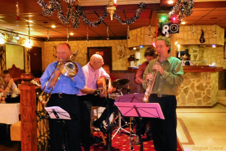 Concert Jazz Carbonic à la Villa César