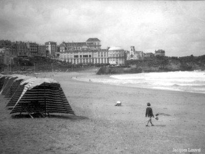 Plage de Biarritz 1959-2012 - côté sud