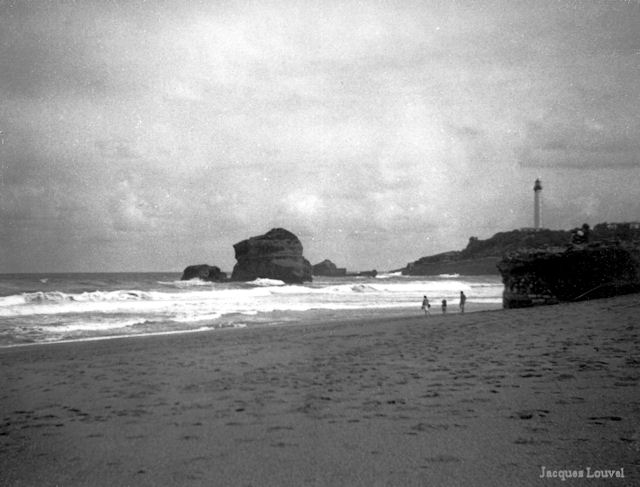 Plage de Biarritz 1959-2012 - côté nord