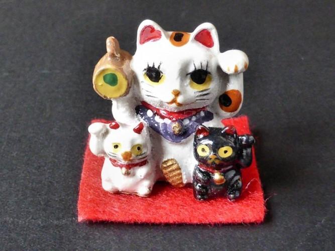 Les chats porte-bonheur japonais
