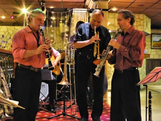 Concert Jazz Carbonic à la Villa Cesar (2)