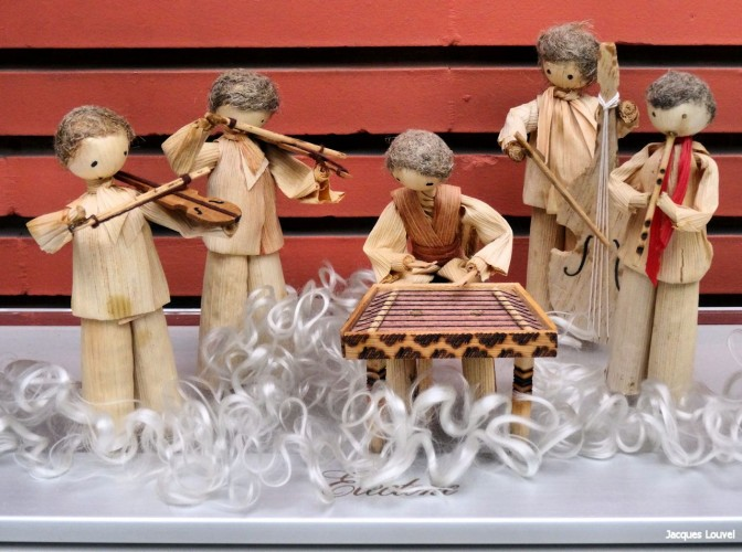Musiciens de paille