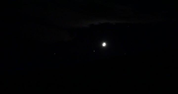 Rencontre Lune - Jupiter dans la Vierge