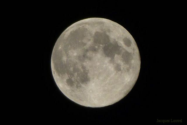 """La """"lune bleue"""" du 31 août 2012"""