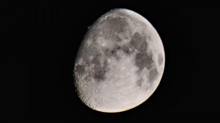 La Lune du 9 juillet 2014 vers 1h54