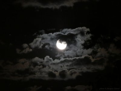 Le 19 juin 2019 la Lune visite Saturne