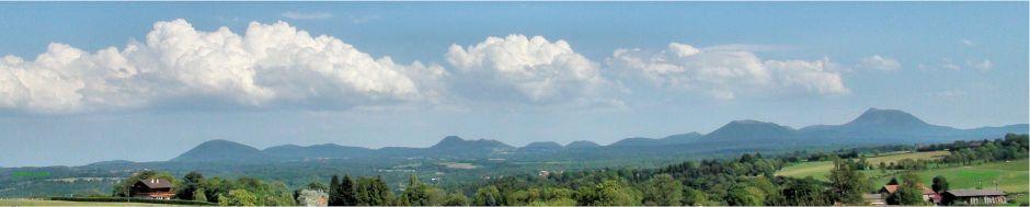 Chaîne des Puys : Menu des panoramas