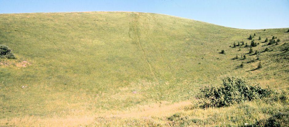 Le Puy de Côme : le cratère jeune