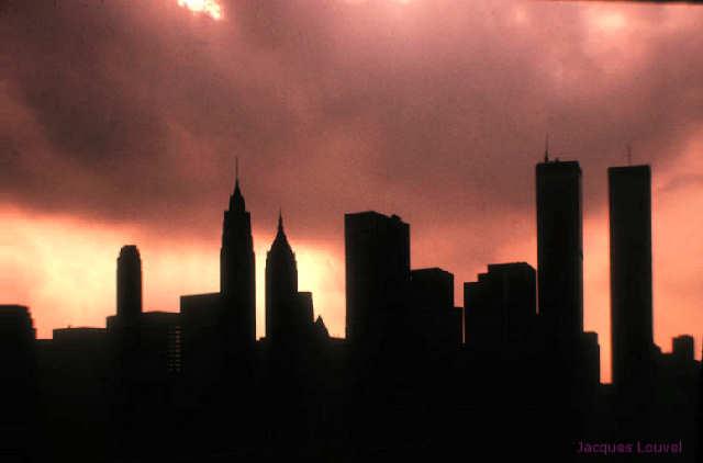 New-York Manhattan : Twin Towers, 1972