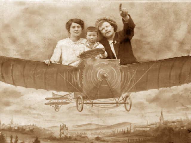 Fête foraine à Bezons - 1914