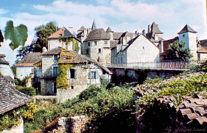 Carennac (Lot) : le prieuré de Fénelon.