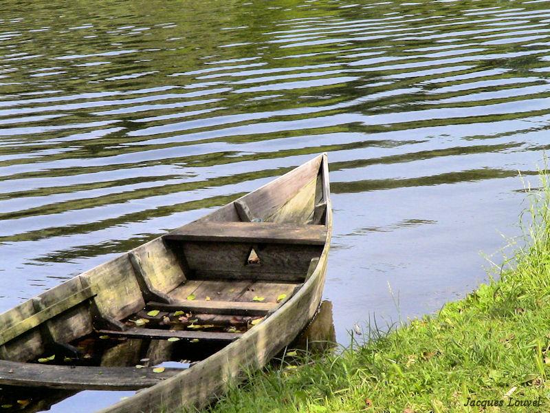 Carennac (Lot) : les barques traditionnelles
