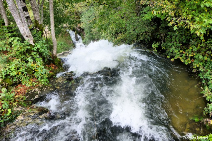Les cascades du Hérisson (Jura)