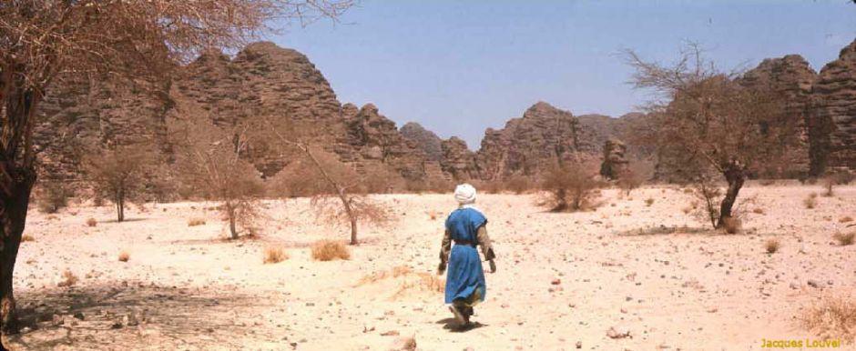 Tassili n'Ajjer : approche de l'Akba Tafilalet