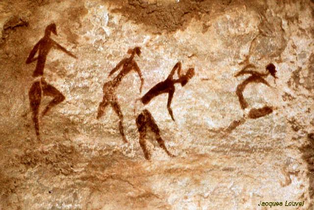 Tassili n'Ajjer : Jabbaren, les danseuses (2)