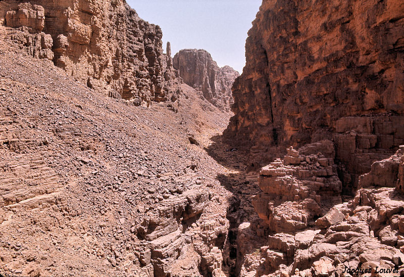 Tassili n'Ajjer : ascension de l'Akba Tafilalet