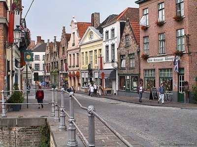 Bruges, impressions soleil absent