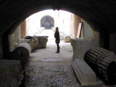 Amphithéâtre et solfatare à Pouzzoles