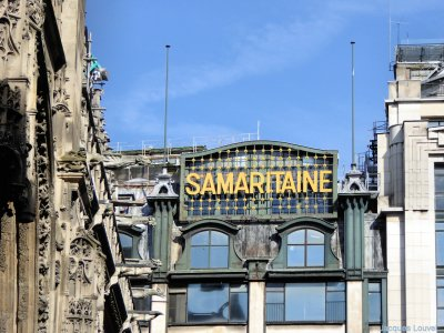 La Samaritaine, rue de l'Arbre Sec