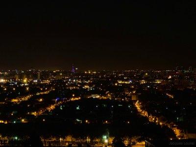 Paris - nuit de l'éclipse de Lune