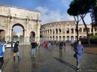 Rome : l'arc de Constantin