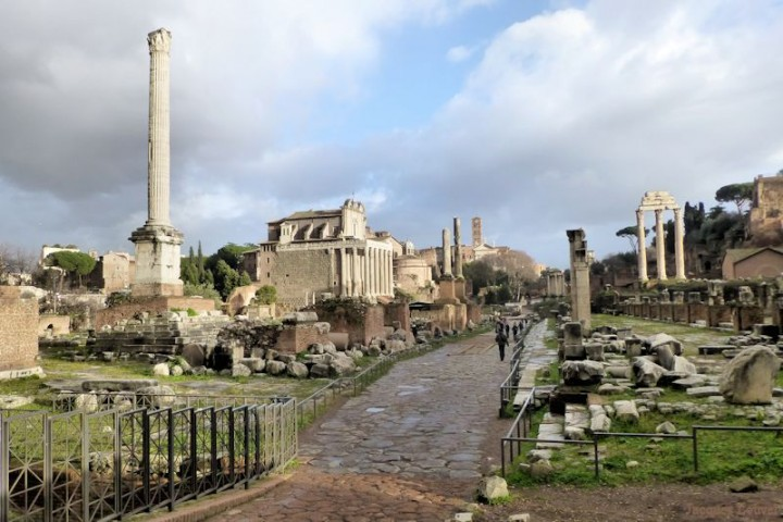 Rome : le forum romain